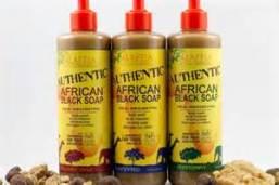 Affrican black soap